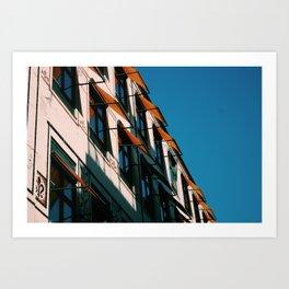 Copenhagen Flats Art Print
