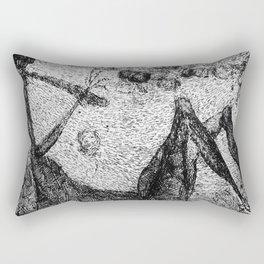 """La mort"" Rectangular Pillow"