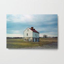 Secondary House, Best Farm, Urbana Maryland Metal Print
