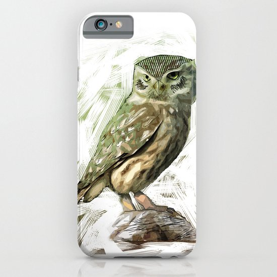Olive Owl iPhone & iPod Case