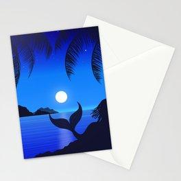 Moonlight Mermaid Stationery Cards