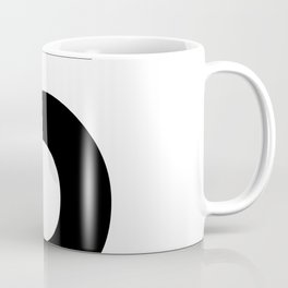 Number 5 (Black & White) Coffee Mug