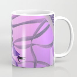 Patterned Ribbons Coffee Mug