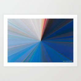 Chromascope Up Close Art Print