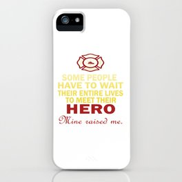 FIREFIGHTER'S DAUGHTER iPhone Case