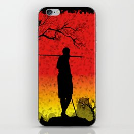 The African Warrior iPhone Skin