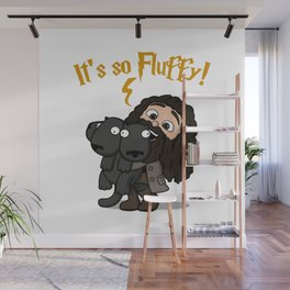 It's So Fluffy Wall Mural