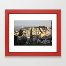 San Fran Framed Art Print