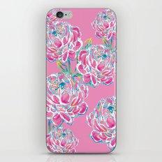 Peony : Pink iPhone & iPod Skin