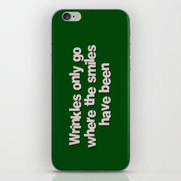 Wrinkles iPhone Skin