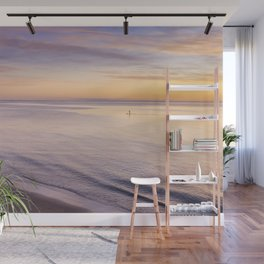Sunset Paddle Wall Mural