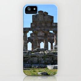 templi di paestum iPhone Case