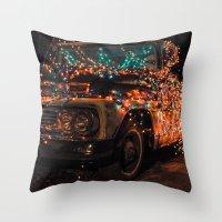 nashville Throw Pillows featuring Nashville by Nevena Kozekova
