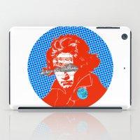 beethoven iPad Cases featuring Ludwig van Beethoven 12 by Marko Köppe