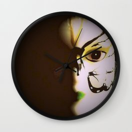 Doll In Color Wall Clock