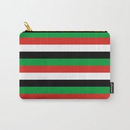 libya Sudan Syria United Arab Emirates Western Sahara flag stripes Carry-All Pouch