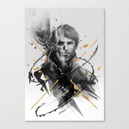 Corvo Thanatos Canvas Print