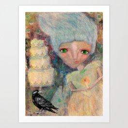 Great Expectations' Miss Havisham  Art Print