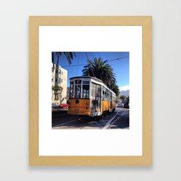 Cable Car Framed Art Print
