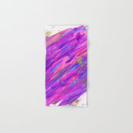 Abstract Pink and Purple Candyland Hand & Bath Towel