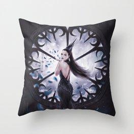 Dark Thorns Throw Pillow