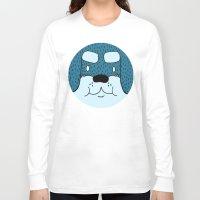 rottweiler Long Sleeve T-shirts featuring ROTTWEILER by Flash Harrold