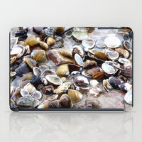 shells iPad Cases featuring Shells by Anne Seltmann