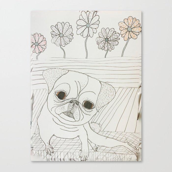 Avoiding Responsibilities Canvas Print