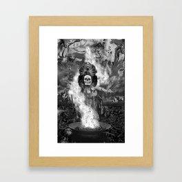 After Death Ritual Framed Art Print