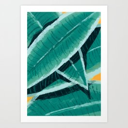 tropical vibez Art Print