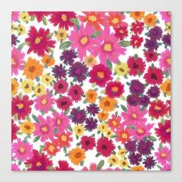 Impressionist Floral Canvas Print