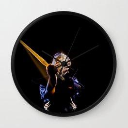 Kendo#2 Wall Clock