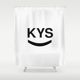 KYS SMILE Shower Curtain