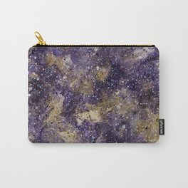 Writings in the Sky the Night Galaxy watercolor by CheyAnne Sexton Carry-All Pouch