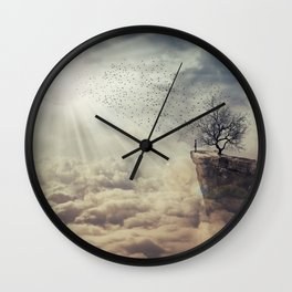 the tree of death Wall Clock