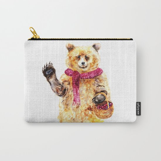 Bear says Hello Carry-All Pouch