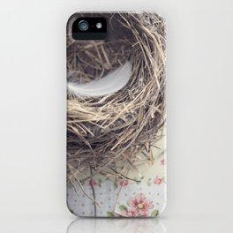 empty nest iPhone Case
