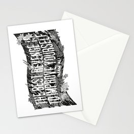 """Imam Ali - """"The best revenge is to improve yourself."""" Stationery Cards"""