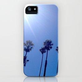 California Palm Tree Sky iPhone Case