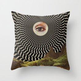 Eye Sun Throw Pillow