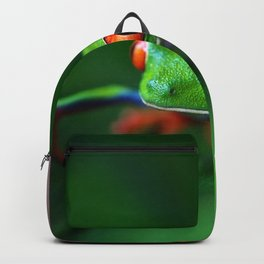 Little Tree Frog (Color) Backpack