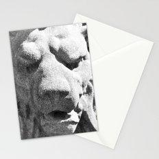 Concrete Lion Head Stationery Cards