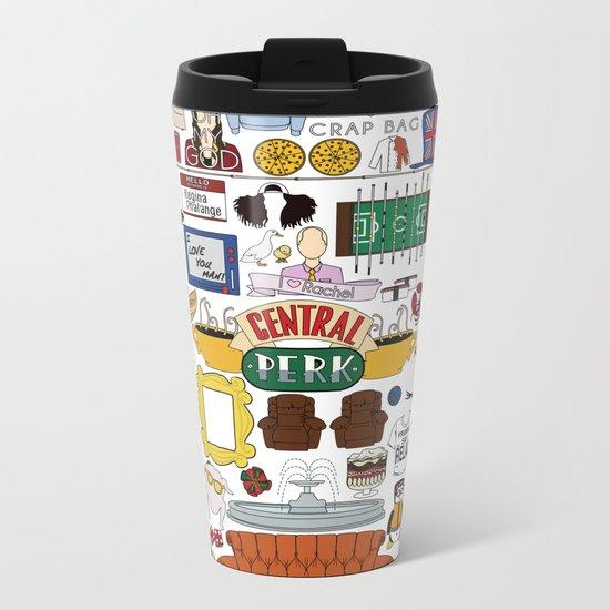 Collage Metal Travel Mug