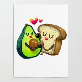 Avocado Toast Poster