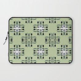 Silverware Pattern Laptop Sleeve