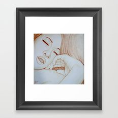 Need it like coffee Framed Art Print