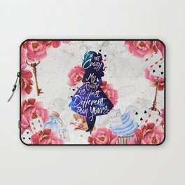 Alice in Wonderland - I'm Not Crazy Laptop Sleeve