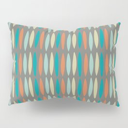 Contemporary Mid-Century Modern Geometric Pattern Pillow Sham