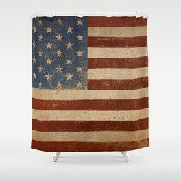 Flag US Flag American America Old Glory USA Shower Curtain