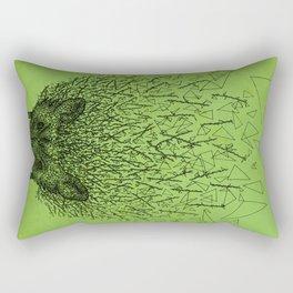 Thorny hedgehog Rectangular Pillow